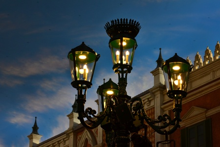 European style antique lamps( Street lamp )