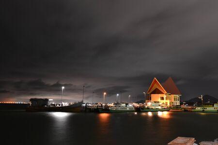 distric: Sriracha Harbour at Koh Loi Sriracha Distric,Chonburi Province,Thailand,Asia
