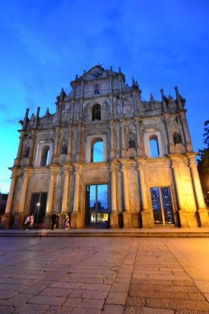 Façade de Saint-Paul, les ruines de Saint Paul cathédrale, Macau