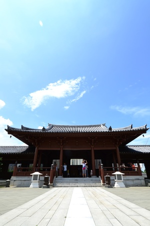 Chi Lin Nunnery is a large Buddhist temple complex located in Diamond Hill , Kowloon,Hong Kong. Stock Photo - 15992788