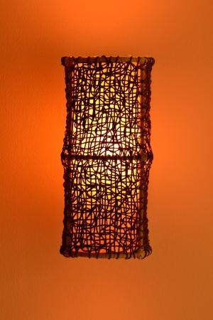 Modern lamp photo
