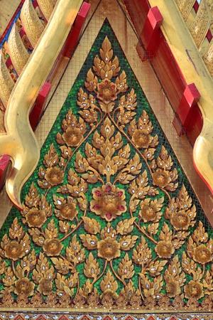 Thai art in the Thai temple ( lai Thai ),Ayutthaya province,Thailand,Asia. Stock Photo - 17661250