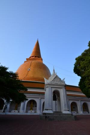 Phra Pathom Chedi(Big pagoda),Nakhon Pathom Province,Thailand. photo