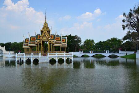 grand pa: Bang Pa-In Palace in Ayutthaya Province,Thailand,Asia. Editorial