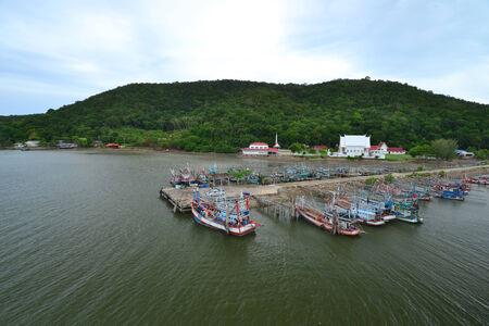 trad: Lives of Thai Fisherman  in Chanthaburi,Thailand.
