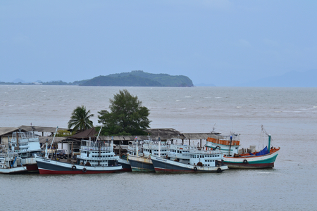 fishery products: The fishing village and coastal fisheries in Chanthaburi province. Thailand.