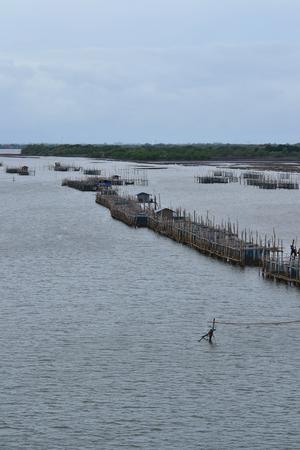pesquero: Las pesquer�as costeras de la provincia de Chanthaburi. Tailandia.