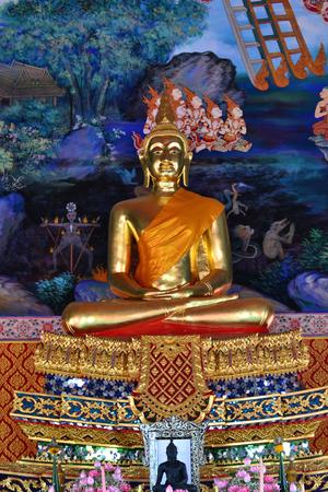ayuttaya: Art in Thai temple,Ayuttaya province,Thailand,Asia.