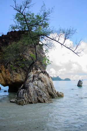 Sea views  of Ao Yai bay,  Koh Payam Island. Ranong Province, Thailand.