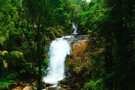 Sirithran waterfall in Thailand photo