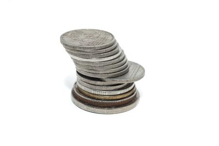Thai coin money background Stock Photo - 9978590