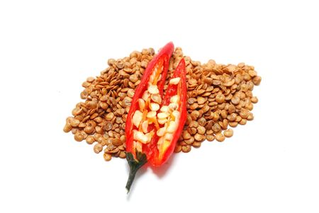 Hot pepper seeds Stock Photo - 10976021
