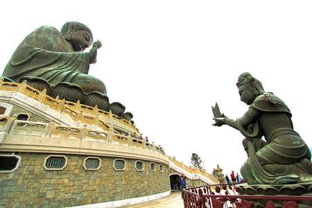 Big Buddha in Hong Kong photo