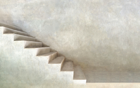 #73414414   Minimalist Grey Background Texture Of Stairs