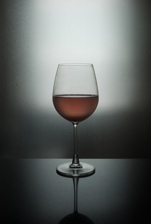 Red wine with natural light