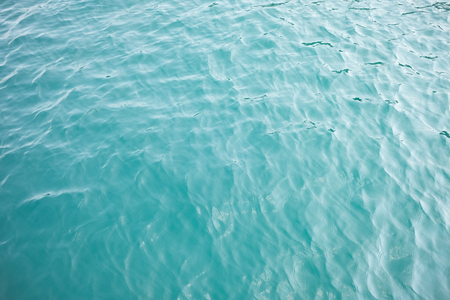 Surface of beauty sea from high angle view Imagens