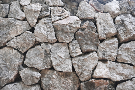 Rocky exterior wall background