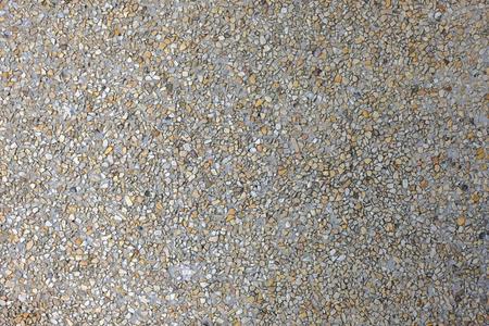 Close up colorful pebbles concrete background
