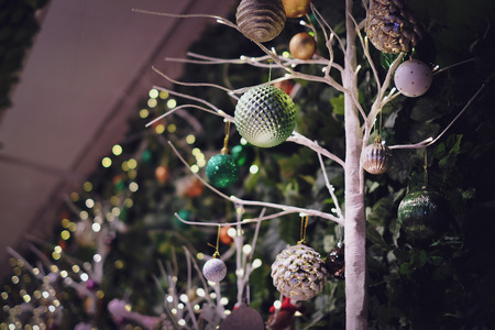 Christmas decorative from low angle view