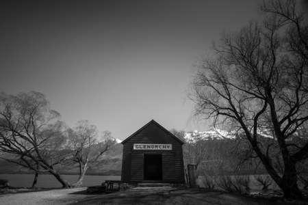 wakatipu: Lake wakatipu, Glenorchy Stock Photo