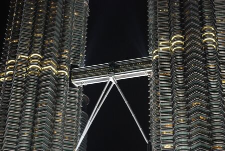 twin tower structure
