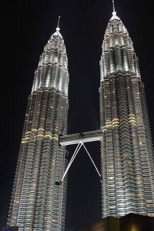 petronas: torres gemelas Petronas, klcc  Editorial