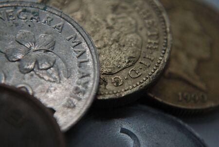 coins cloe up