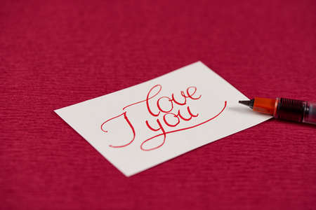 love confession: The Note with Love Confession