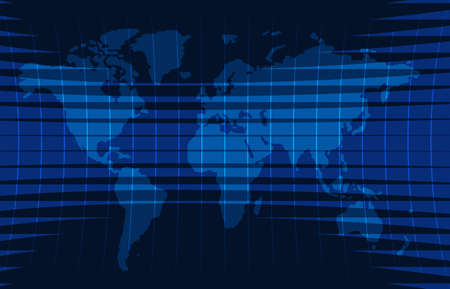 News background, breaking news,vector infographic with news theme map of the world.