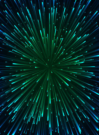 Speed of light vector background.