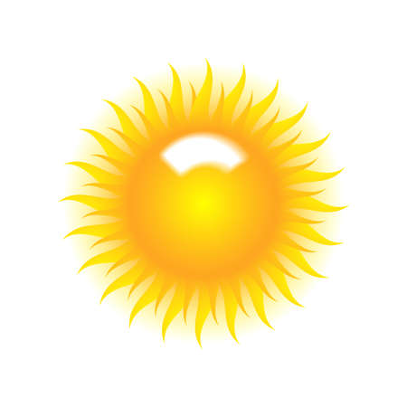 White vector background with sun burst effect.