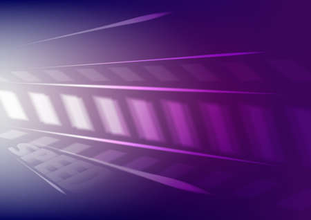 Abstract light speed motion background.