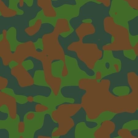 Camouflage pattern illustration Vector