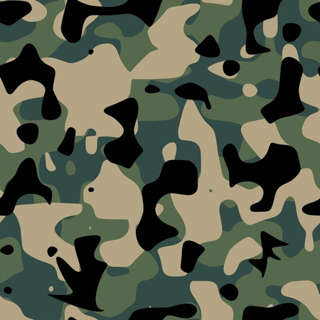 camouflage pattern illustration Illustration