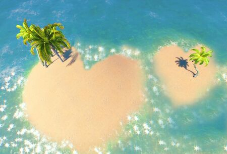 Islands of Love Stock Photo - 13267954