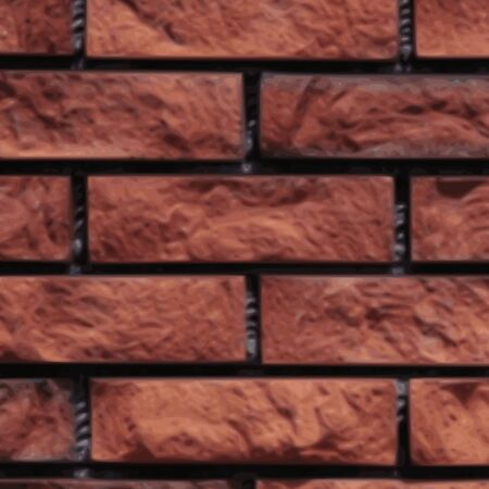 old grunge brick wall background - vector