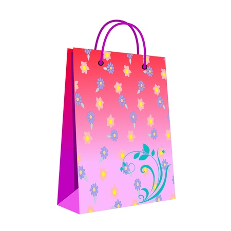 shopping bag - vector Vector