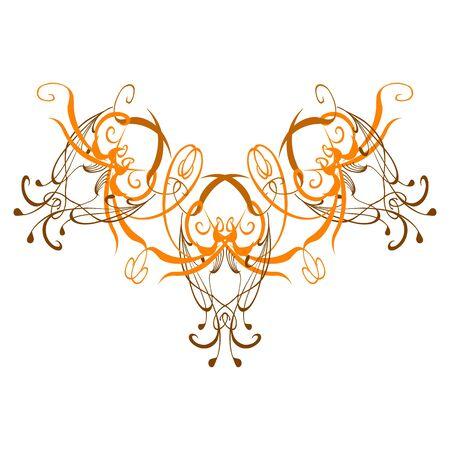 decorative pattern Stock Vector - 13285213