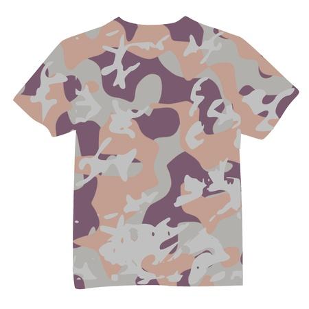 Mens Military Shirt - vector