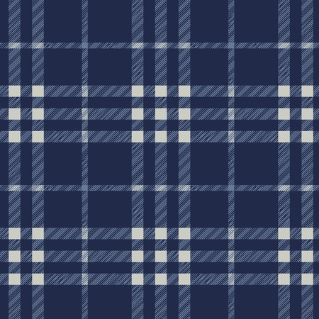 Tartan plaid fabric textile pattern - vector Stock Vector - 13285412