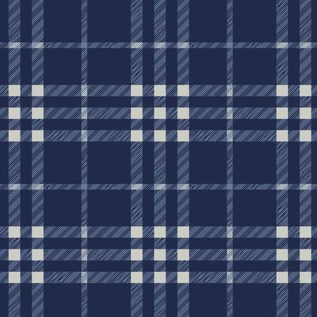 Tartan plaid fabric textile pattern - vector Stock Vector - 13285412