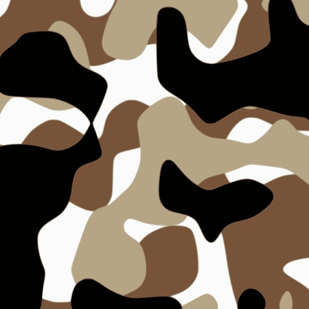 Camouflage pattern - vector Illustration