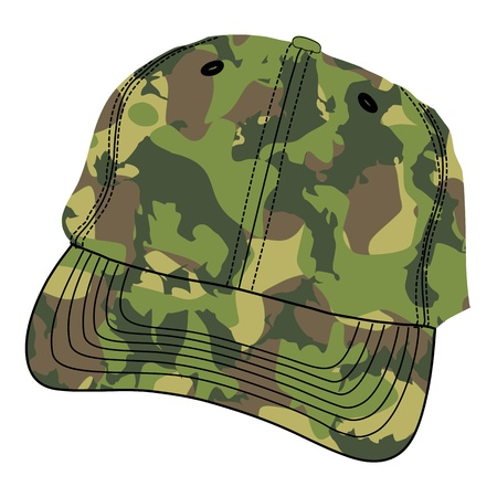 Army Cap - vector Illustration