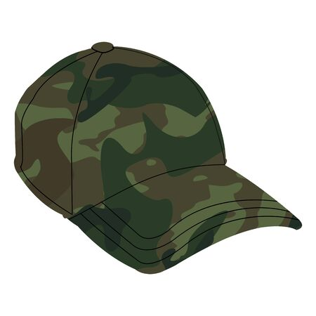 Army Cap - vector Illustration