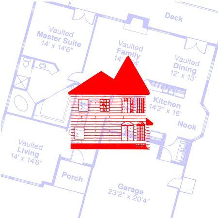 Дом и план