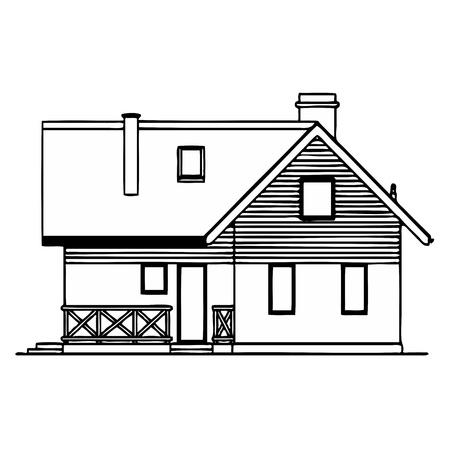 House Stock Vector - 13317706