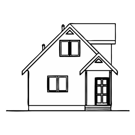 House - vector Stock Vector - 13317623