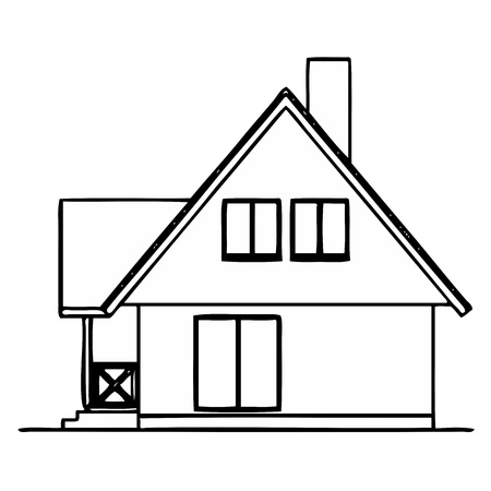 House Stock Vector - 13317606