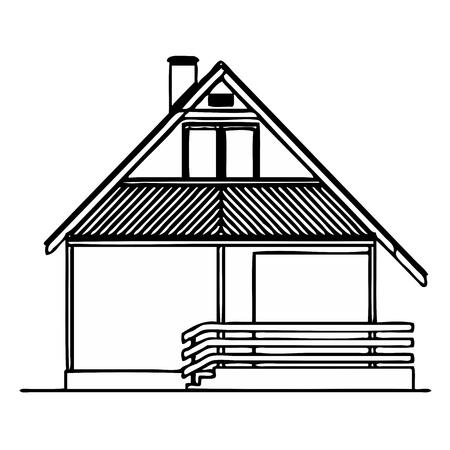 balk: House  Illustration
