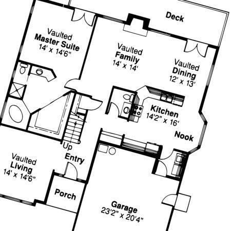 house plan - vector